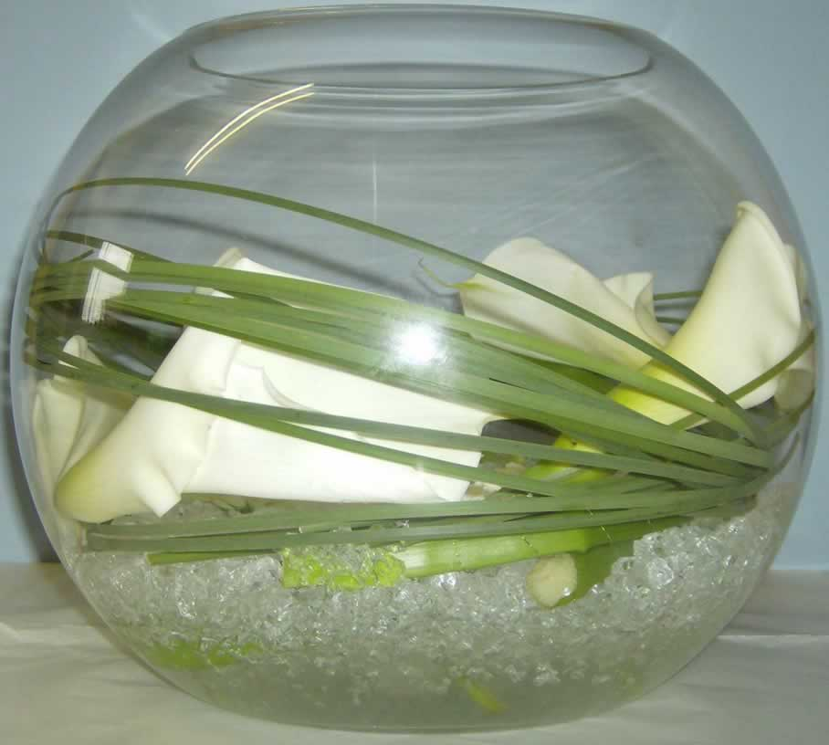 The uk wedding company the venue dresser centrepiece for Fish bowl price